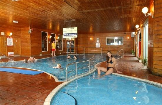 The superb indoor pool and sauna picture of perran view holiday park st agnes tripadvisor for Hotels in cornwall with indoor swimming pool