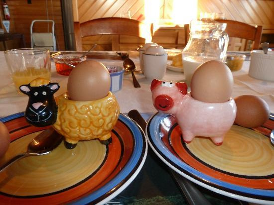 House Of Wood: Note, the Egg Cups.