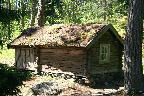 Museo al aire libre de Seurasaari: old houses on Seurasaari