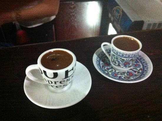 Adora Hotel: Turkish coffee