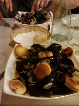 Osteria Antico Giardinetto : cozze & vongole