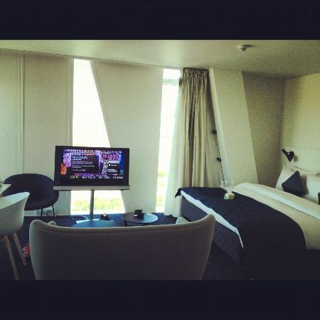 Bedroom Billede Af Ac Hotel By Marriott Bella Sky Copenhagen K Benhavn Tripadvisor