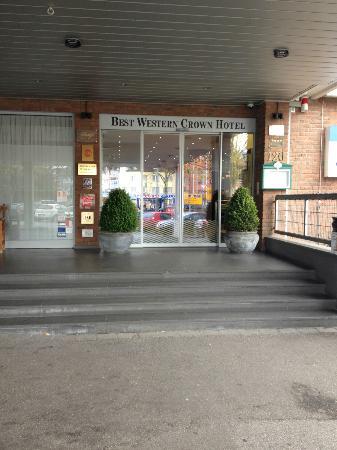 BEST WESTERN PLUS Crown Hotel: Haupteingang