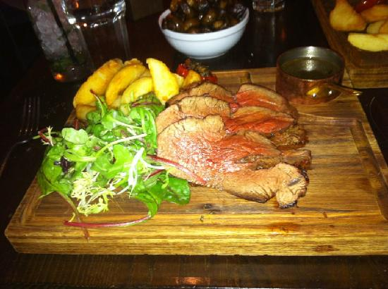 Hotel du Vin Poole: The best beef I have ever ate.