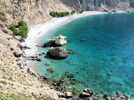 Sfakia, Grèce : View from above (Loutro side)
