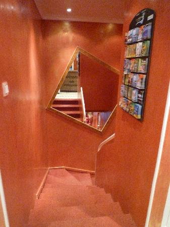 Hotel Bellevue: Escalier