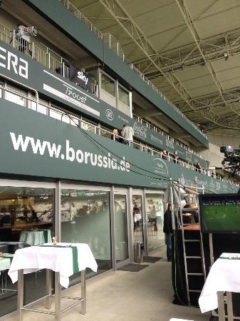 Borussia-Park: Vip-Loge des Borissia-Vorstandes