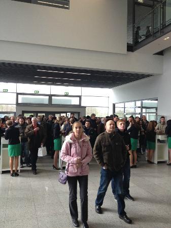 Borussia-Park: VIP-Eingangsbereich