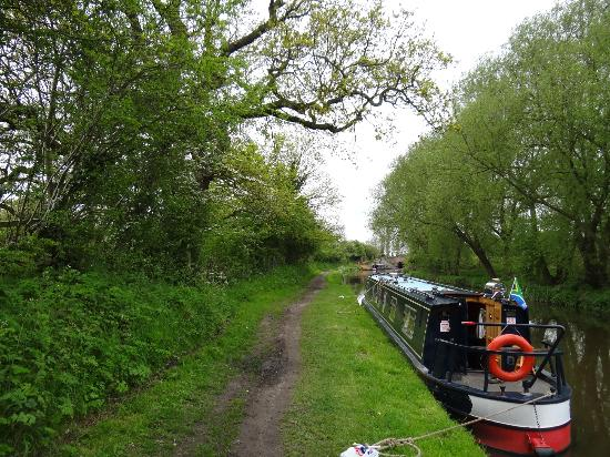 Staffordshire, UK: Peace and quiet with lush surroundings along the Trent and Mersey canal.