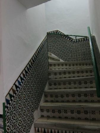 Pension San Benito Abad: Steep stairs