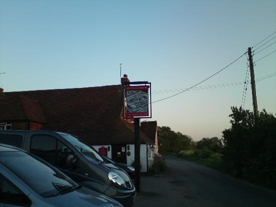 The Pepper Box Inn: Pub sign