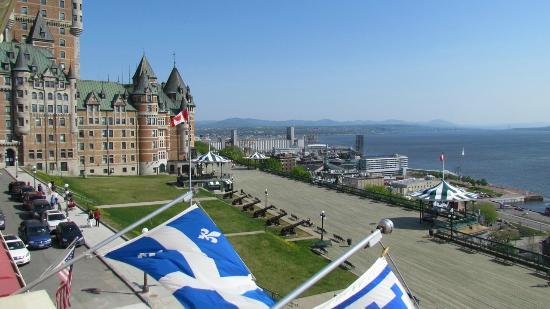 Hotel Terrasse Dufferin : View from Room 16