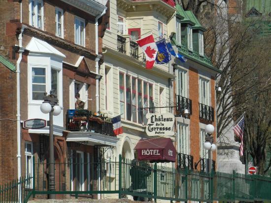 Hotel Terrasse Dufferin : Well settled on the Terrasse