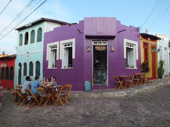 Maria Bonita Casa de Massas: Fachada do restaurante.