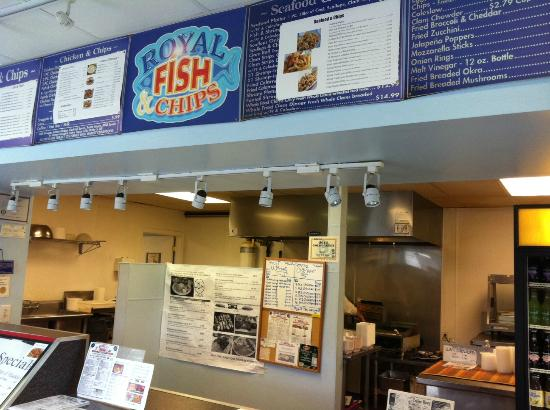 Royal Fish & Chips: Fried, fried, fried