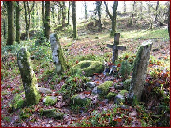 Weston House: St Aban's Grave
