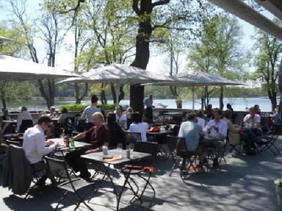 Villa Kallhagen: Restaurant Outdoor Seating