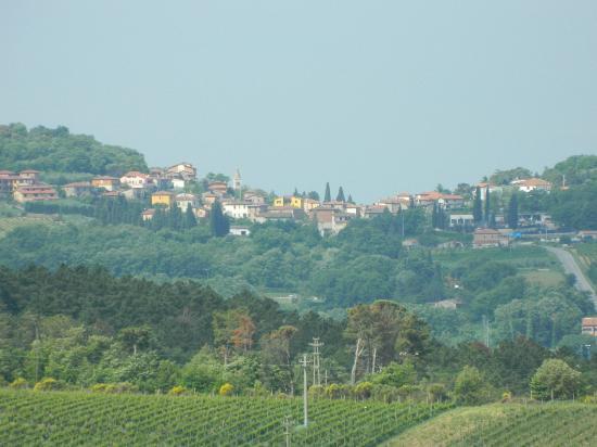 Castello di Modanella: view