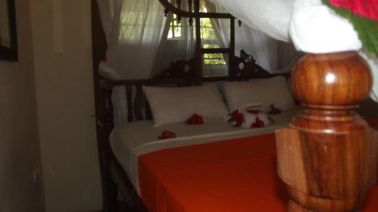 Dhow Inn: cosy room