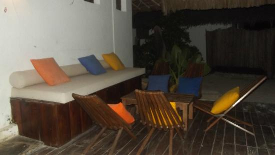 Dhow Inn: resting area