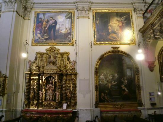Iglesia de la Caridad : inside