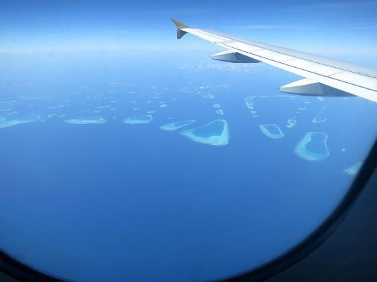 Robinson Club Maldives: Malediven aus der Luft