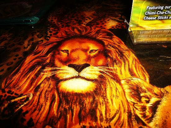 Lion King Table Top Picture Of Rainforest Cafe Anaheim
