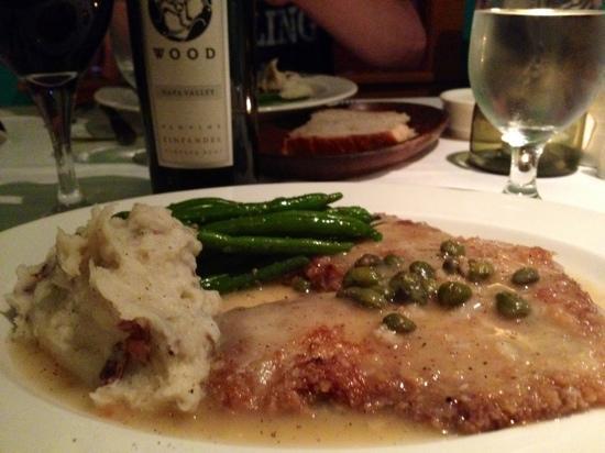 Moya: veal cutlets