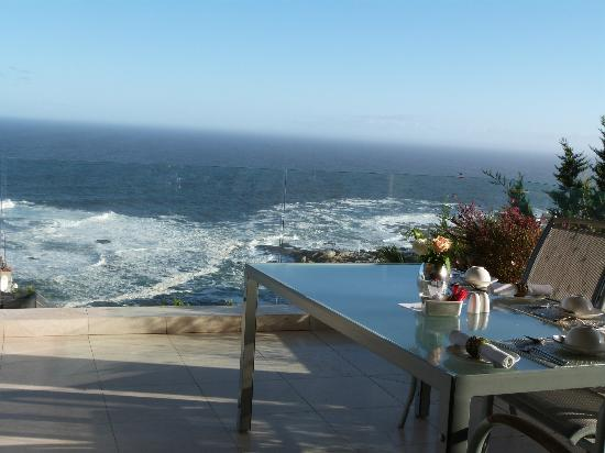 The Clarendon Bantry Bay: view from dining room