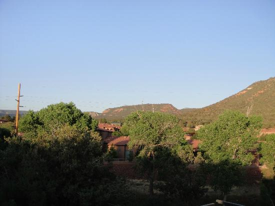 Las Posadas of Sedona: View off balcony