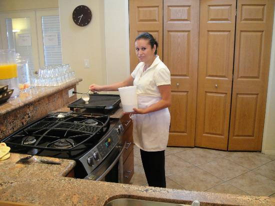 Las Posadas of Sedona: Great cook Vero!
