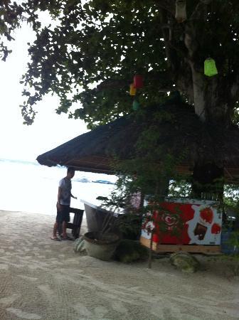 Precious Garden Samal: The Bar at the beach.