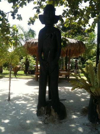 Precious Garden Samal: Beach Area