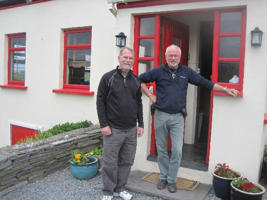 Half Door B&B : Mike (l) and Connor (r)