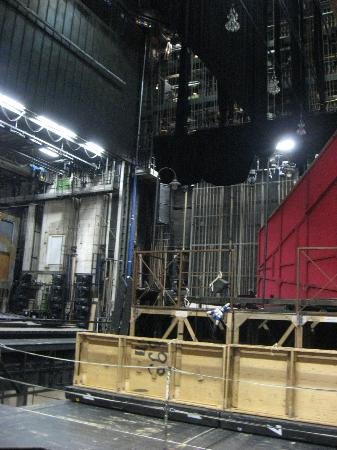 Opera of Vienna Guided Tour: Back stage - partial view