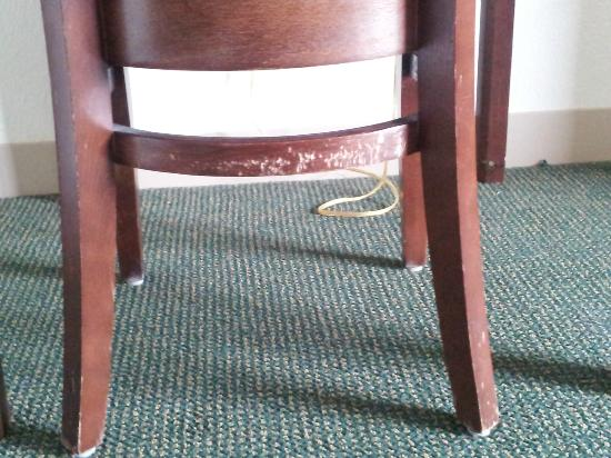 Extended Stay America - Sacramento - Elk Grove: Desk Chair - all scratched up