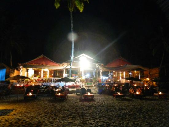 Cuba Premium Beach Huts: The Restaurant