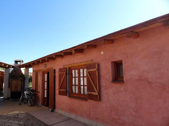 Posadas Luna y Sol: Cottage (bikes can be rent at the market square