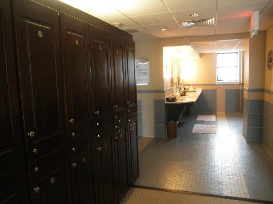 Spa of the Rockies: Changing room.