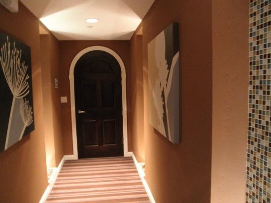Spa of the Rockies : Door to the women's changing room.