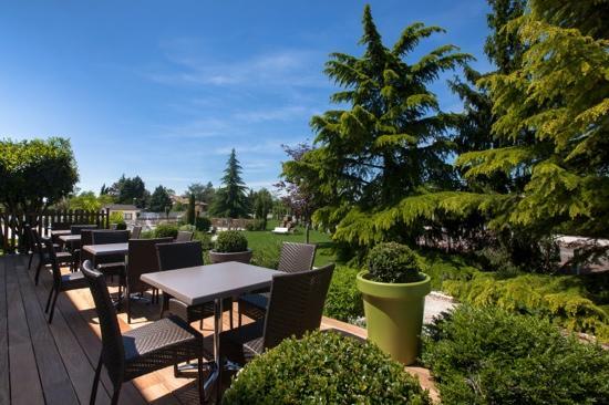 hotel adelie : vu terrasse