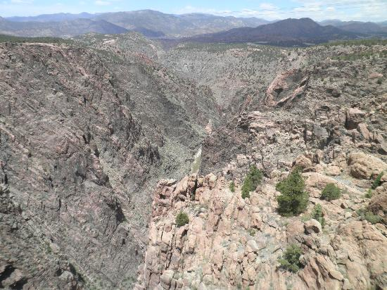 Royal Gorge Bridge and Park: View of the Royal Gorge