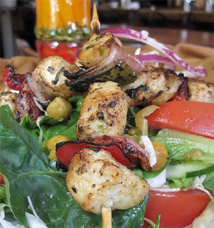 Tarka Indian Kitchen: Chicken Kabob Salad