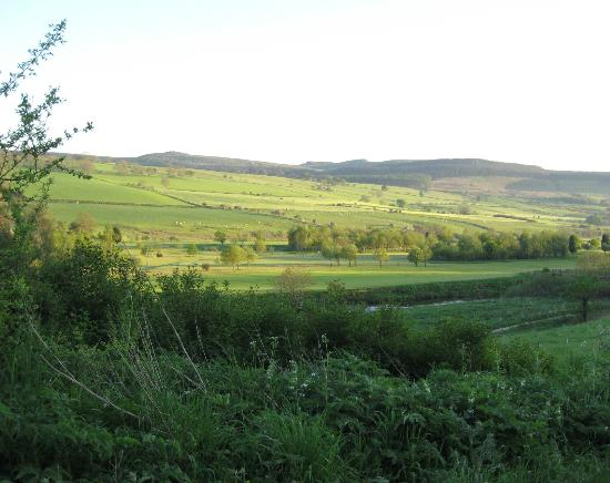 The Orchard House: View over Rothbury Golf Course