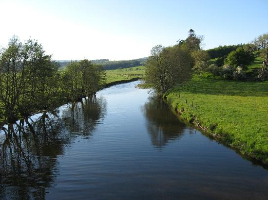 The Orchard House: River Coquet at Rothbury