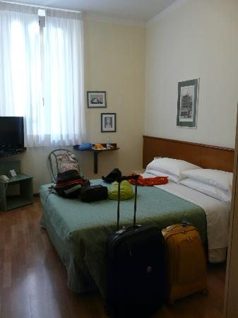 Hotel Duomo: Our Room