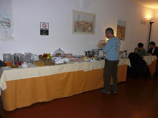 Hotel Duomo: Breakfast room