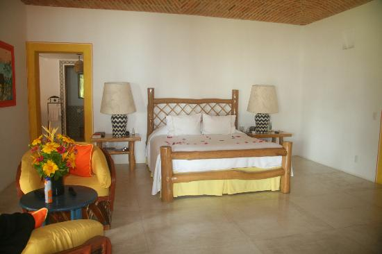 Las Alamandas: Our room