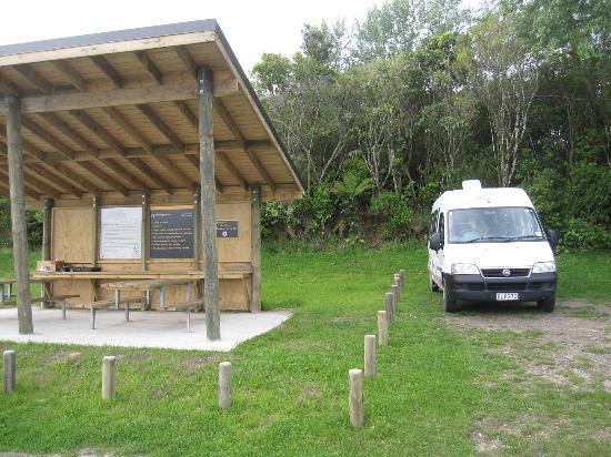 Lake Okareka DOC Campsite : Campingplatz