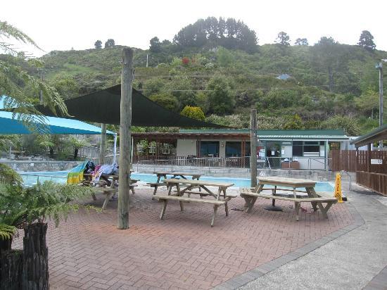 Waikite Valley Thermal Pools: Pool Anlage